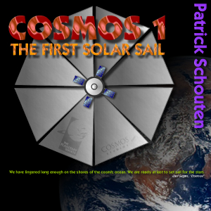 "the album ""Cosmos 1 - the first solar sail"" by Patrick Schouten"